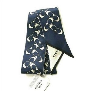 Authentic Coach Skinny scarf